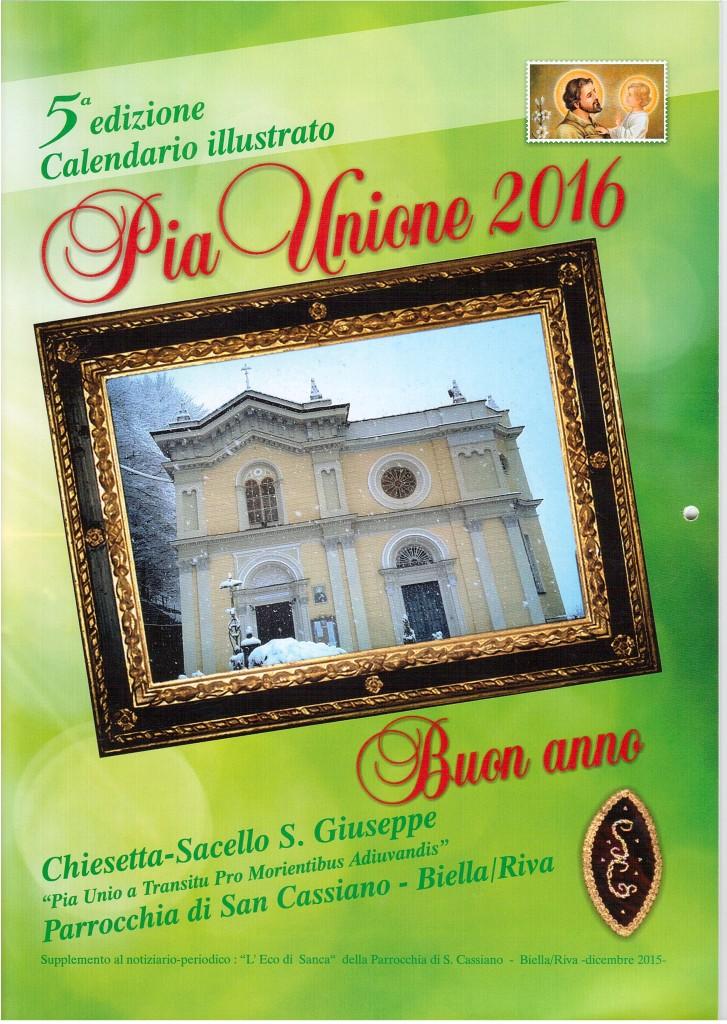 San Giuseppe Biella - Calendario 2016