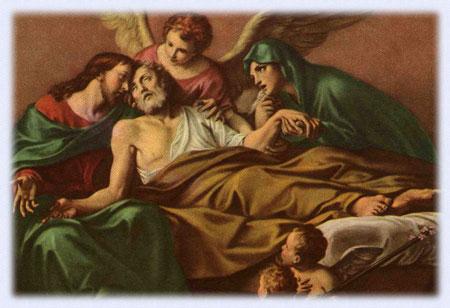 San Giuseppe Biella - San Giuseppe morente