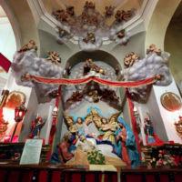 San Giuseppe Biella - Visione completa dell'antico Sacello - 1644
