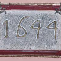 San Giuseppe Biella - Pietra con data di costruzione del Sacello