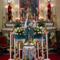 San Giuseppe Biella - Statua di Maria Ausiliatrice