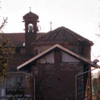 San Giuseppe Biella - La Chiesetta vista dal retro, con il campanile non visibile frontalmente