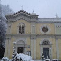 San Giuseppe Biella - Durante una nevicata
