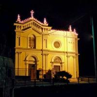 San Giuseppe Biella - Facciata Notturna
