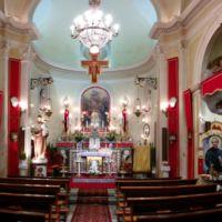 San Giuseppe Biella - Visione panoramica della navata della Chiesetta.
