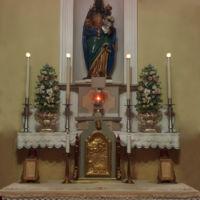 San Giuseppe Biella - L'altare dedicato alla Madonna d'Oropa