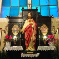 San Giuseppe Biella - Statua del Sacro Cuore di Gesù